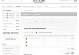 SAVOONS - Carrito Compra