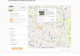 Localizador web