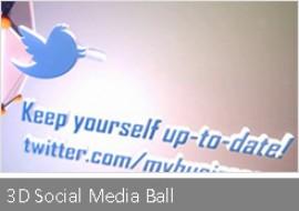 3D Social Media Ball